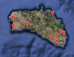 Tenemos oficinas de alquiler de coches por toda #Menorca ¿cuál tienes más cerca? - Contenido seleccionado con la ayuda de http://r4s.to/r4s