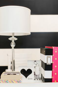 The TomKat Studio: The Black and White Striped Wall   The Reveal… @valsparpaint #valsparreserve #tomkatshop