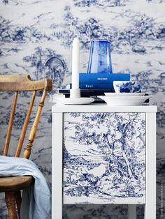 Toile de Jouy - Ikea