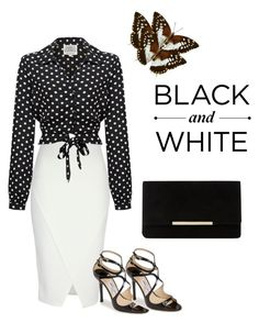 """""""Untitled #704"""" by kimberlydalessandro ❤ liked on Polyvore featuring Jane Norman, Jimmy Choo and Dune"""