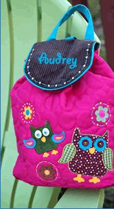 Pick up an Owl Diaper Bag!  Plus have it personalized for a one of a kind baby shower gift! $29.99  www.thecrazydazy.com