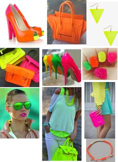 A little neon will give a great jolt to you and your home |   Sweet and Sour Kids Blog