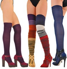7ac4bc36216f1 Women's Luxury Thigh-High stockings & socks and Over-the-Knee Length
