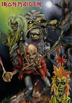 Iron Maiden by YetiSalad.deviantart.com on @deviantART
