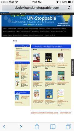 Excellent dyslexia books  #dyslexia #dyslexicchild #dysgraphia #ADHD