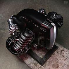 Motos Bmw, Bmw Scrambler, Bmw Motorcycles, Vintage Motorcycles, Auto Design, Design Autos, Bike Design, Design Cars, Bmw Boxer