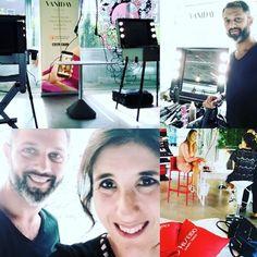 Hairstyle touchup FashionCamp.it. Thanks to Sebastiano #vaniday #imago #milan. Cantoni for Vaniday.