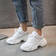 Women Comfy Net Mesh Heighten Dance Shoes Fitness Exercises Athletic Sneakers