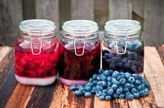 Polish blueberry cordial, likier borowkowy, needs to mature for several months before drinking, so plan accordingly. It makes a great hostess gift.