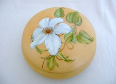 hand painted Limoges round box by variousstyles on Etsy,   Sold