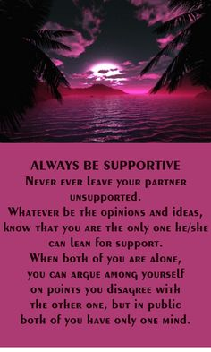Always be supportive of each other #relationshipadvice #couples #lastinglove #iloveu #justthetwo #usagainsttheworld #soulmates