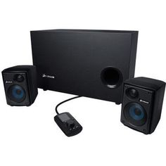 0768bb2df0c Amazon.com: Corsair Gaming Audio Series SP2500 High-Power 2.1 PC Speaker  System (CA-SP211NA): Electronics