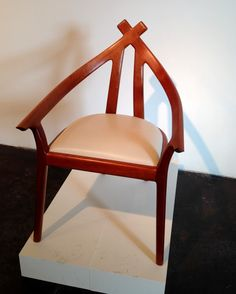 Modern Wood Chair Sculpture - See more at: http://chambersarchitects.com/blog/251-chambers-architects-visits-santa-fe-community-gallery.html#sthash.LNviGaZf.dpuf