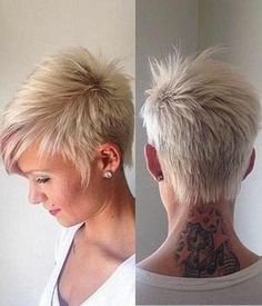 Resultado de imagen para wavy pixie cut for older woman