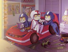 Turbo by jiggly.deviantart.com #fanart - Turbo and the Twins #turbros