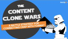 Quite cloning content: battling crap content through form.  #content #contentmarketing #hubspot