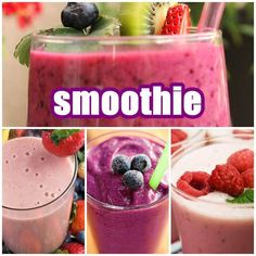 Prepare your delicious smoothie recipe for fresh and tasty beverages