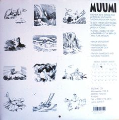 Moomin-Calendar-2014-Black-and-White-from-Tove-Jansson-Illustrations