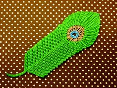 Ravelry: Peacock feather Motif pattern by Chinami Horiba