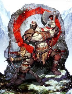Anyone been replaying the past God of War games to catch up for the new one? God of War by GENZOMAN Kratos God Of War, King's Quest, Game Character, Character Design, Geeks, God Of War Game, God Of War Series, Conceptual Drawing, Poses References