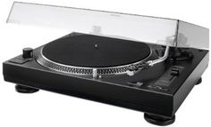 Dual DTJ 301.1 USB DJ-Plattenspieler (33/45 U/min, Pitch-Control, Magnet-Tonabnehmer-System, Nadelbeleuchtung, USB Kabel) schwarz: Amazon.de...
