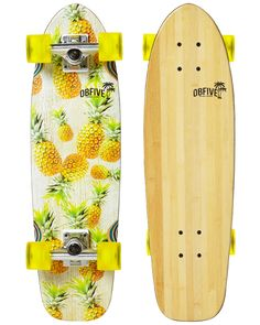 Pineapple Vibes Cruiser | OBfive Skateboards