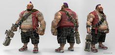 Bebop - Damon Woods: 3D Character Artist