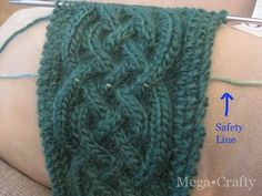 Mega•Crafty: Tips and Resources for Knitting and Fixing Cables