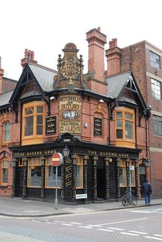 The Queens Arms - Birmingham, England.  Some of the best meals are found in the local pubs in Great Britain.  ASPEN CREEK TRAVEL - karen@aspencreektravel.com