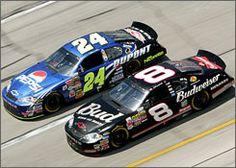 Jeff Gordon & Dale Earnhardt Jr