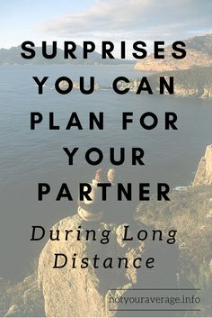 It takes a lot of effort for Long Distance Relationships to be successful. One of the best ways to keep your LDR interesting is to plan surprises for each other! I have put together a list based off my own experiences, to help you in your journey. Click the image to read - Surprises You Can Plan For Your Partner During Long Distance!