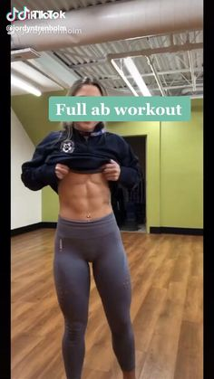 Full Ab Workout, Gym Workout Videos, Gym Workout For Beginners, Abs Workout Routines, Fitness Workout For Women, Ab Workout At Home, Fitness Workouts, Butt Workout, Army Workout