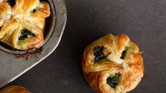 Spinach Puffs Recipe | Bon Appetit