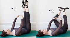 Victoria's Secret Angels' trainer Mary Helen Bowers shares how to get rid of thigh jiggle with her super-effective inner thigh workout. Inner Thigh Lifts, Ballet Moves, Yoga Pilates, Fitness Motivation, Thigh Exercises, Ways To Relax, Workout, Toddler Girl, Thigh Workouts
