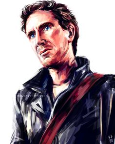 This is gorgeous, not unlike Paul McGann... #DoctorWho #EighthDoctor