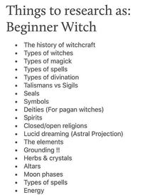Wiccan Spells For Beginners Witchcraft Spell Books, Wiccan Spell Book, Wiccan Witch, Magick Spells, Witchcraft Symbols, Witch Spell, Types Of Witchcraft, Wiccan Altar, Wiccan Runes