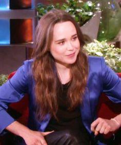 Ellen Page went on Ellen, made everyone proud