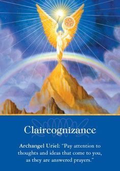 Oracle Card Claircognizance | Doreen Virtue | official Angel Therapy Web site