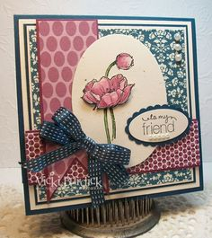 CC431....to my friend by justcrazy - Cards and Paper Crafts at Splitcoaststampers