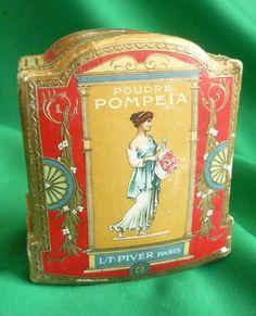 L. T. Piver 'POMPEIA' face powder (unopened, full). @Deidré Wallace