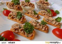 Pohanková pomazánka se sušenými rajčaty a pažitkou recept - TopRecepty.cz Waffles, Tacos, Food And Drink, Gluten Free, Mexican, Meat, Chicken, Vegetables, Breakfast
