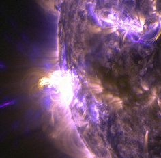 NASA Captures Images of a Late Summer Flare [detail] | Flickr - Photo Sharing!