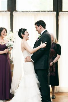 We DO!!  Read More: http://www.stylemepretty.com/2014/08/19/rustic-glam-brooklyn-wedding/