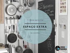 11 ideias para criar espaço extra na cozinha…