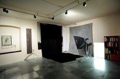 La Bottega Fotografica, la sala posa