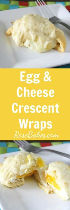 Egg & Cheese Crescen