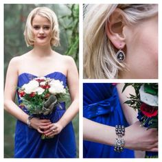 Elsa Corsi Bridesmaid Jewellery at Jeweliette Jewellery -  photographed by Christie Graham - styled by Best Day Ever Events for The Refinery Magazine - florals The Flower Factory