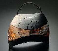 One Kathleen Dustin S Creative Handbags Contemporary Ceramics Biscuit Polymer Clay Projects