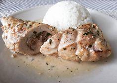 #lackoj #stuffed #chicken #chickenbreast #rice #homemade