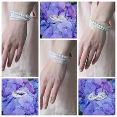Simple Bridal Rhinestone Drop Earrings by AModestBitOfFlair